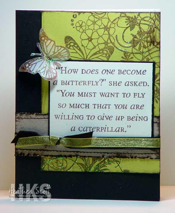 Heather's card