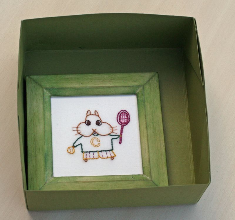 Box with frame-1