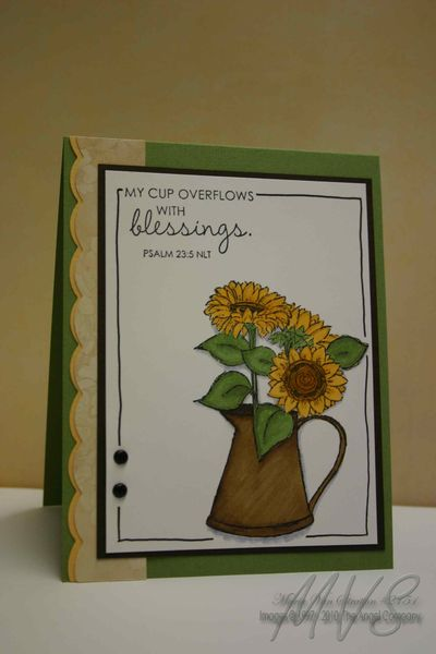 Sunflower-Pitcher