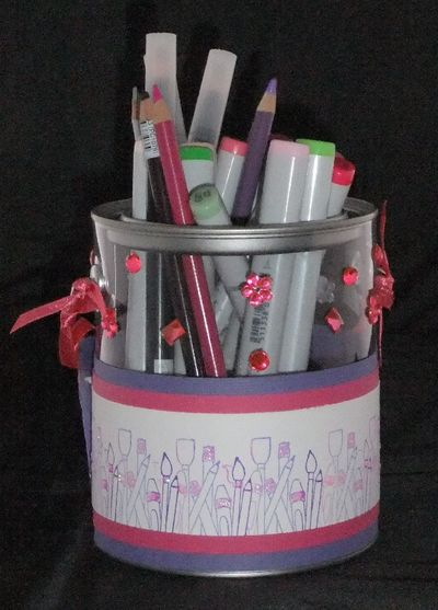 Cup of love pen holder