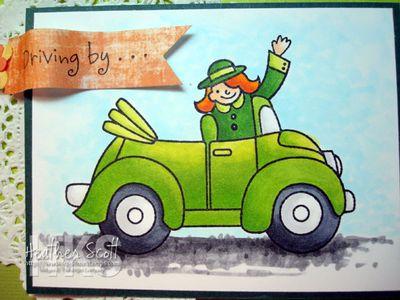 Greencar-coloring