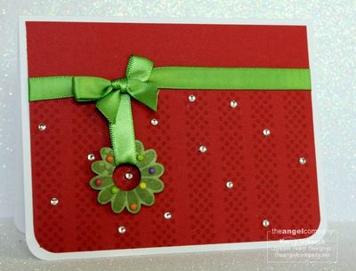 Christmas in July-Dotty Flowers