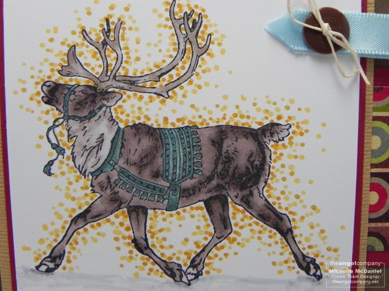 Xmas in July Reindeer upclose