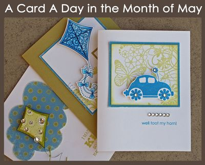 A Card A Day in the Month of May
