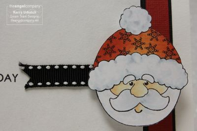 Christmas in July-Love this Day and Love Lines Coloring Detail